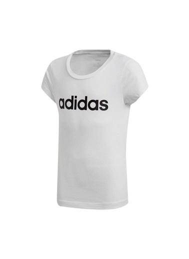 adidas Yg E Lin Tee Kız Çocuk Kısa Kol T-Shirt Beyaz